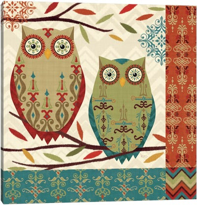 Hoot II  Canvas Art Print