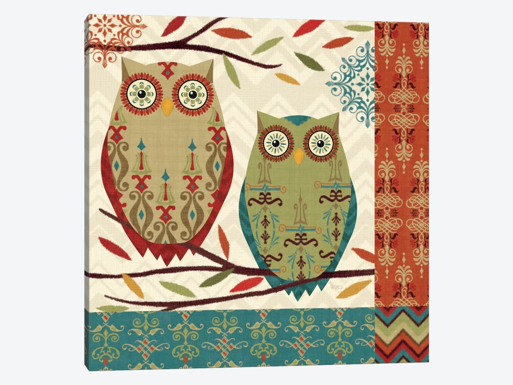 Hoot II  by Veronique 1-piece Canvas Artwork