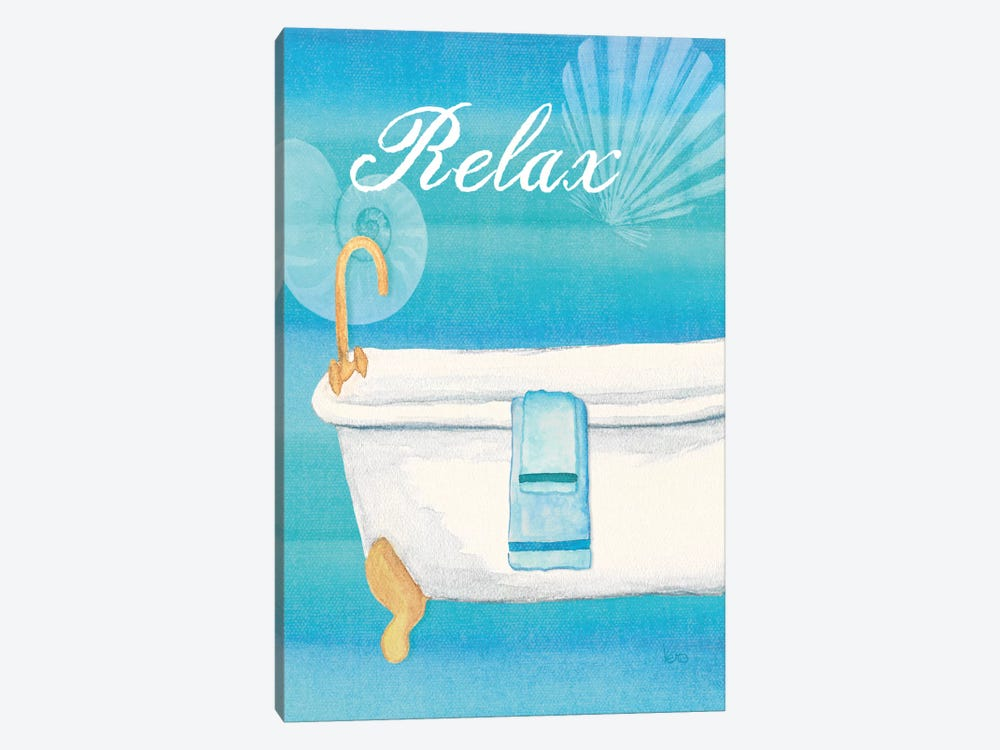 Seashells Spa II No Border  by Veronique 1-piece Canvas Print