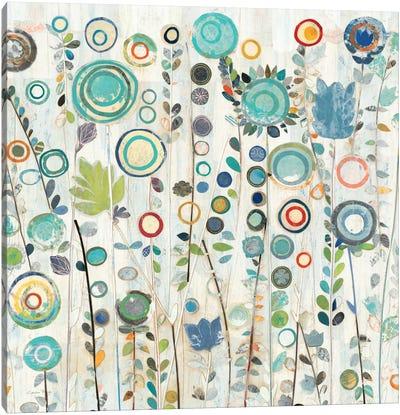 Ocean Garden I Square Canvas Art Print