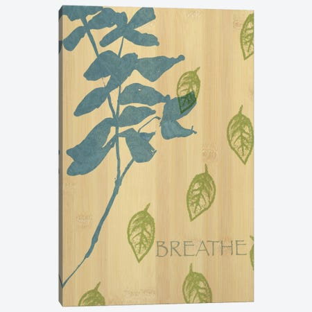 Breathe Canvas Print #WAC1588} by Wild Apple Portfolio Canvas Wall Art