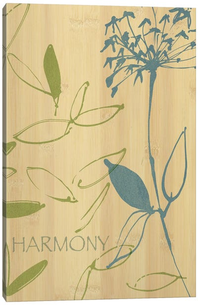 Harmony Canvas Art Print