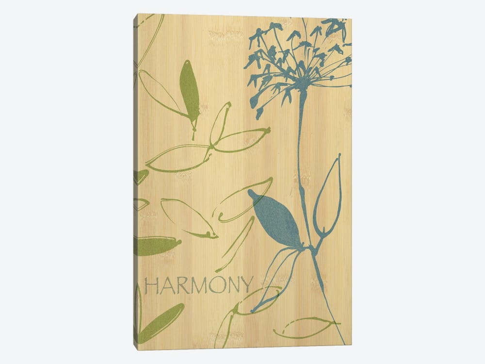Harmony 1-piece Canvas Print