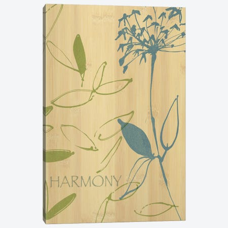 Harmony 3-Piece Canvas #WAC1589} by Wild Apple Portfolio Canvas Wall Art