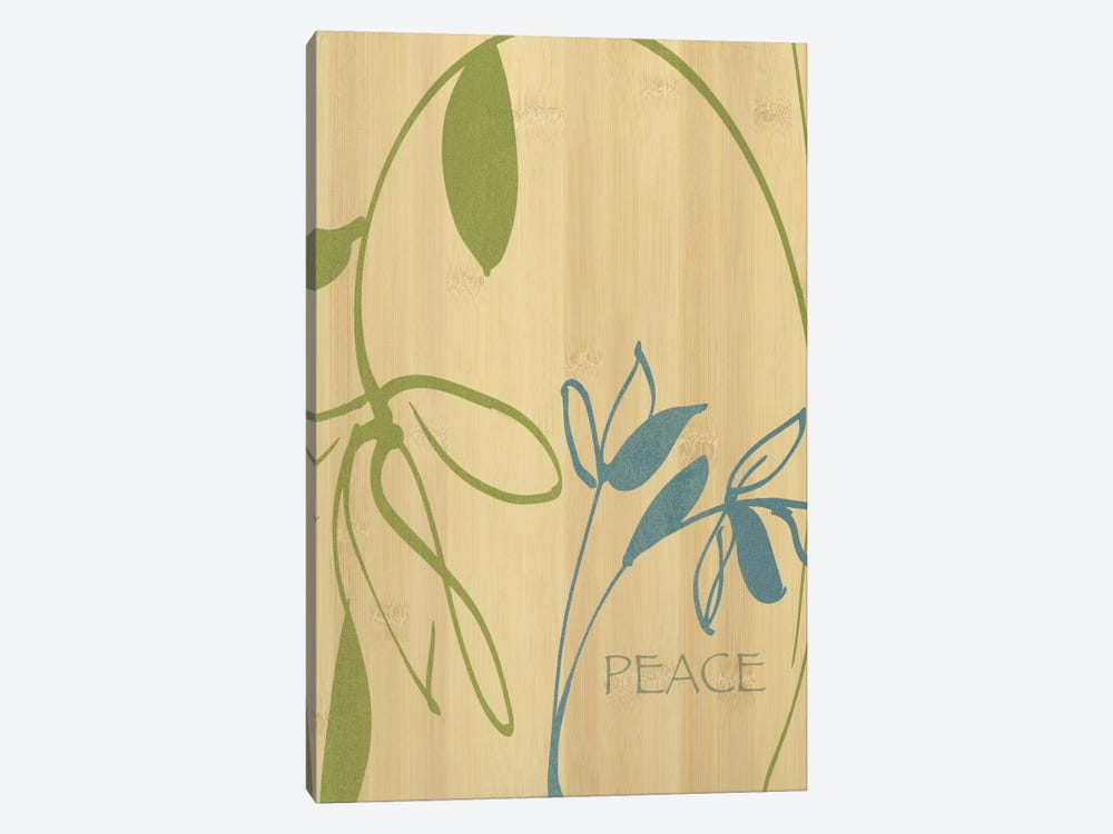 Peace by Wild Apple Portfolio 1-piece Canvas Print