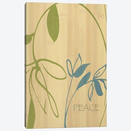 Peace 3-Piece Canvas #WAC1590} by Wild Apple Portfolio Art Print