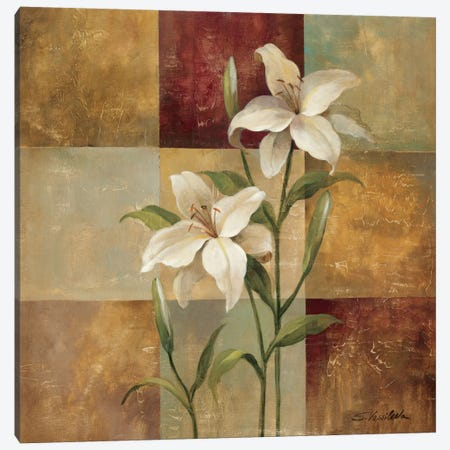 Lily Square Canvas Print #WAC1591} by Silvia Vassileva Canvas Print