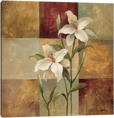 Lily Square Canvas Art Print
