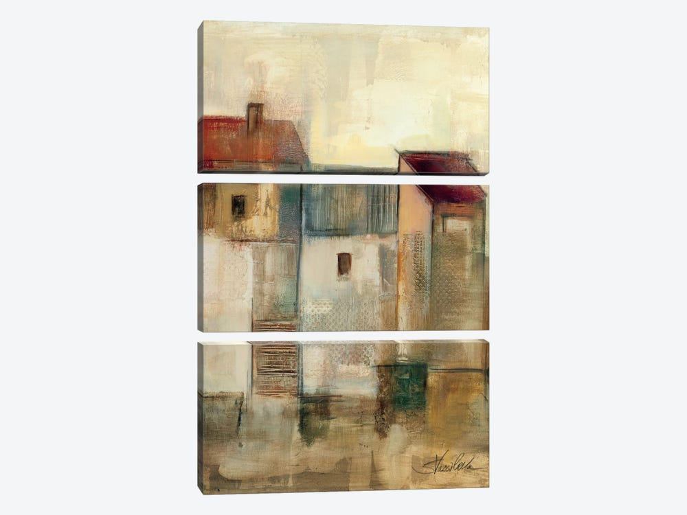 Nostalgie II by Wild Apple Portfolio 3-piece Canvas Wall Art