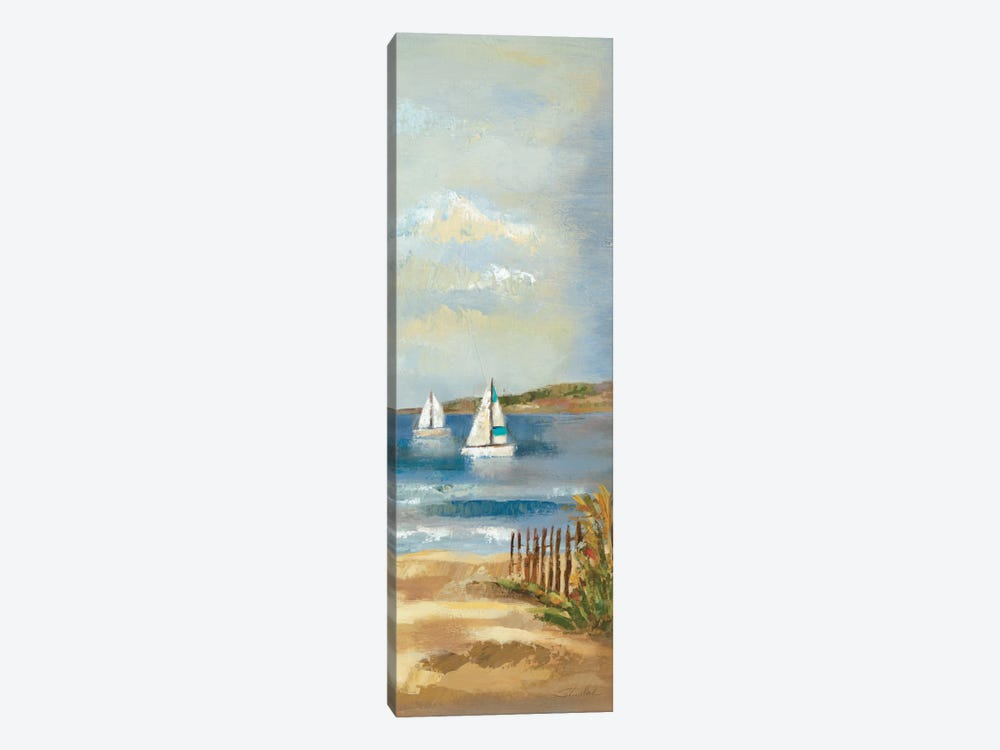 Sunny Beach Panel II by Wild Apple Portfolio 1-piece Canvas Wall Art