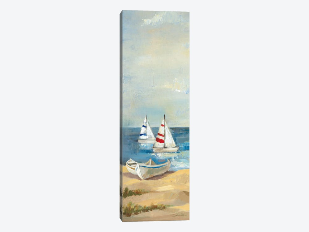 Sunny Beach Panel III by Wild Apple Portfolio 1-piece Canvas Print