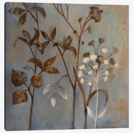 Branches in Dusty Blue Canvas Print #WAC1598} by Wild Apple Portfolio Canvas Print