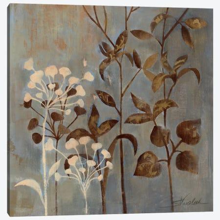 Branches in Dusty Blue II Canvas Print #WAC1599} by Wild Apple Portfolio Art Print