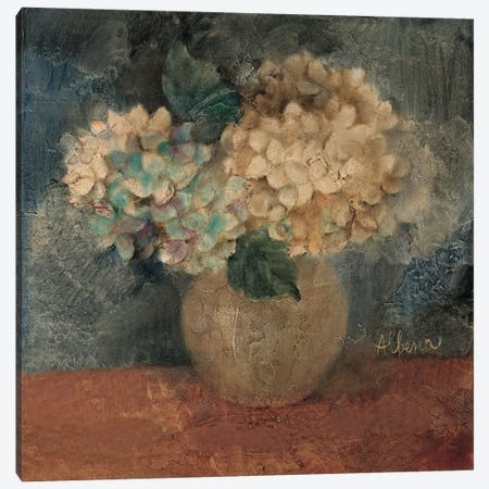 Hydrangea Study IV Canvas Print #WAC1600} by Wild Apple Portfolio Canvas Print