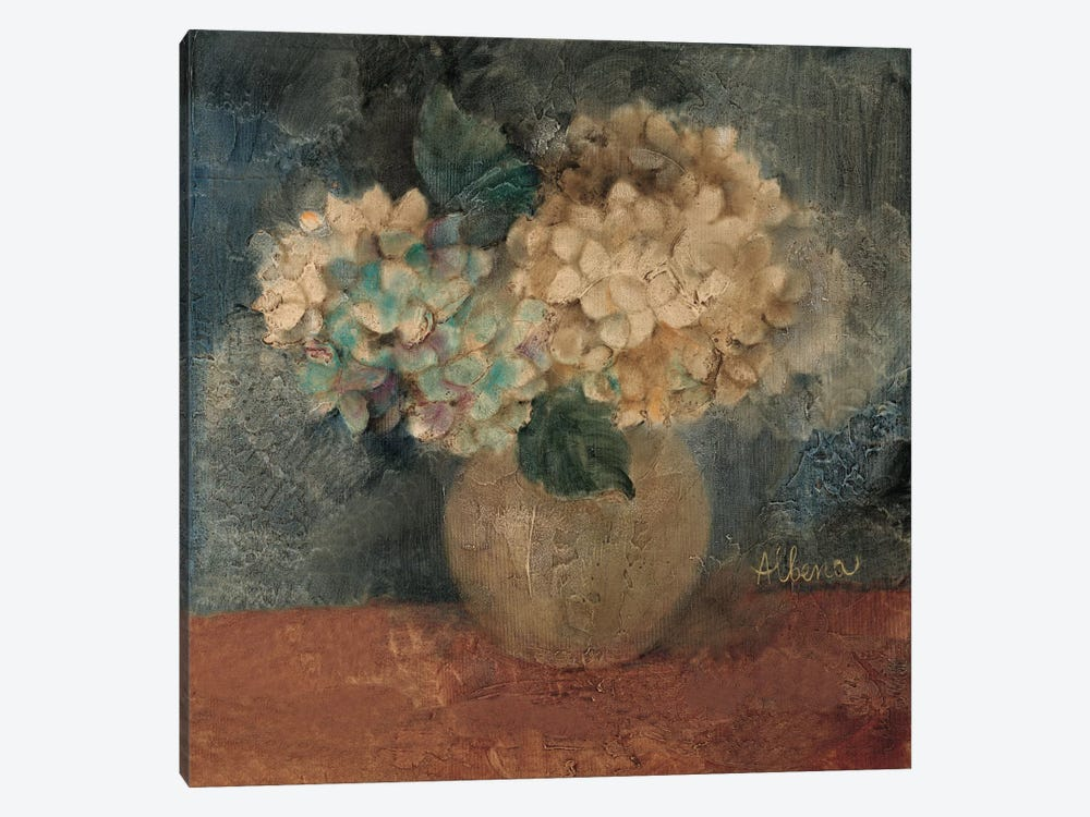 Hydrangea Study IV by Wild Apple Portfolio 1-piece Canvas Wall Art