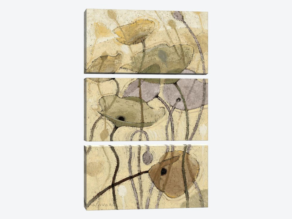 Fluidity I by Wild Apple Portfolio 3-piece Canvas Print