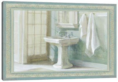Refresh Bath I Canvas Art Print