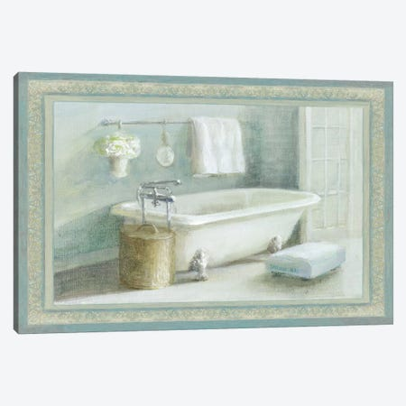 Refresh Bath II Canvas Print #WAC1609} by Wild Apple Portfolio Art Print