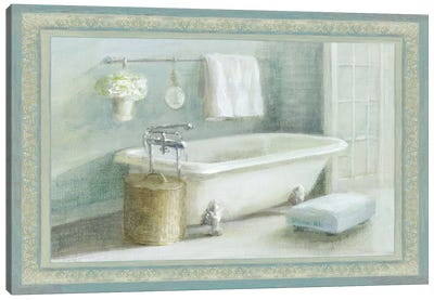 Refresh Bath II Canvas Art Print