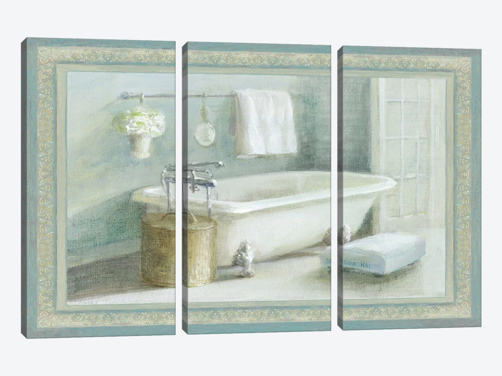 Refresh Bath II by Wild Apple Portfolio 3-piece Art Print