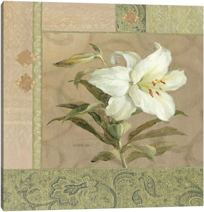 Summer Lily Canvas Art Print