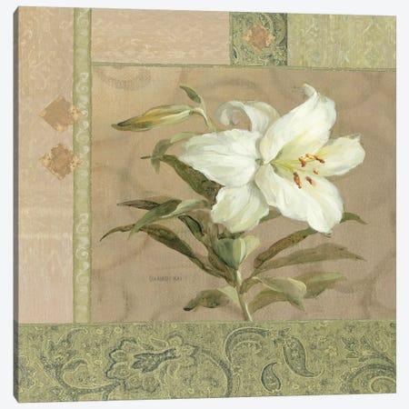 Summer Lily Canvas Print #WAC1610} by Wild Apple Portfolio Canvas Artwork
