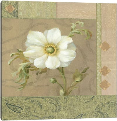 Summer Anemone Canvas Art Print