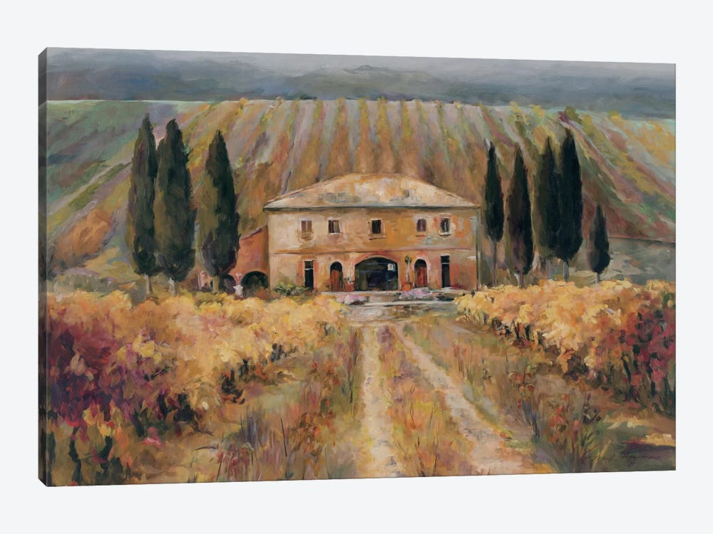 Toscana Vigna by Wild Apple Portfolio 1-piece Canvas Artwork