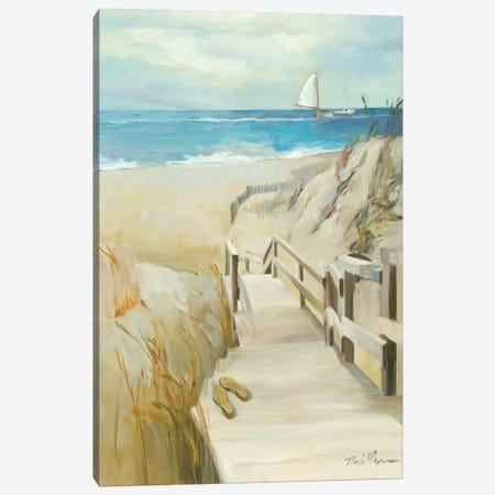 Coastal Escape Canvas Print #WAC1617} by Wild Apple Portfolio Canvas Print