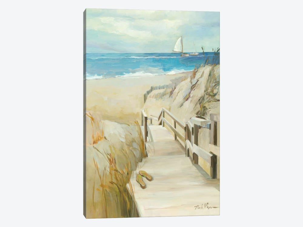 Coastal Escape by Wild Apple Portfolio 1-piece Canvas Art