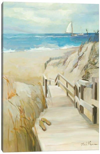 Coastal Escape Canvas Art Print