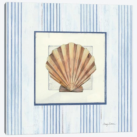 Sanibel Shell I Canvas Print #WAC1620} by Wild Apple Portfolio Art Print