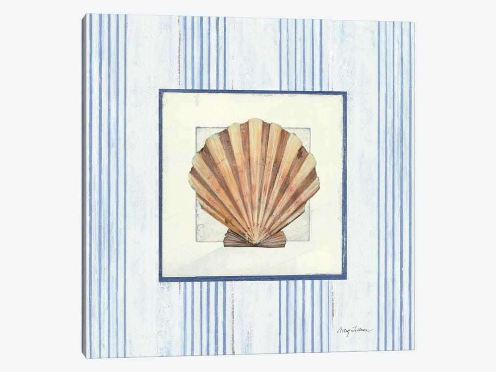 Sanibel Shell I by Wild Apple Portfolio 1-piece Canvas Wall Art