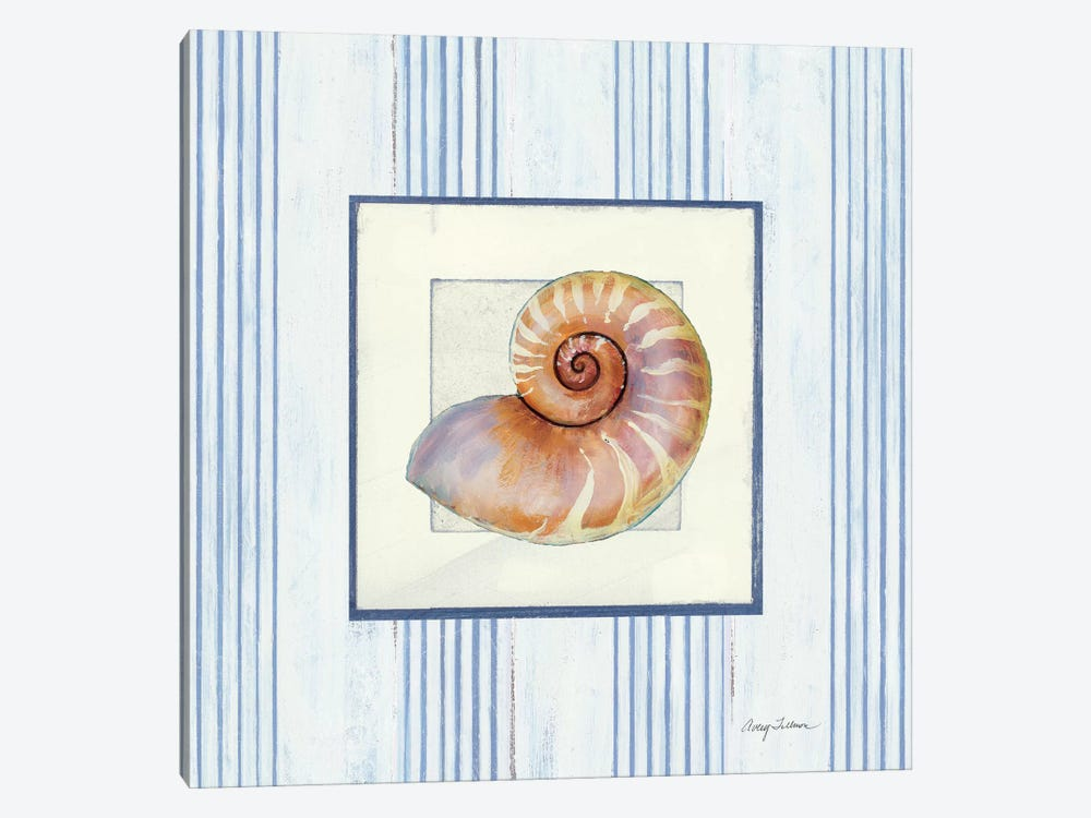 Sanibel Shell III 1-piece Canvas Wall Art