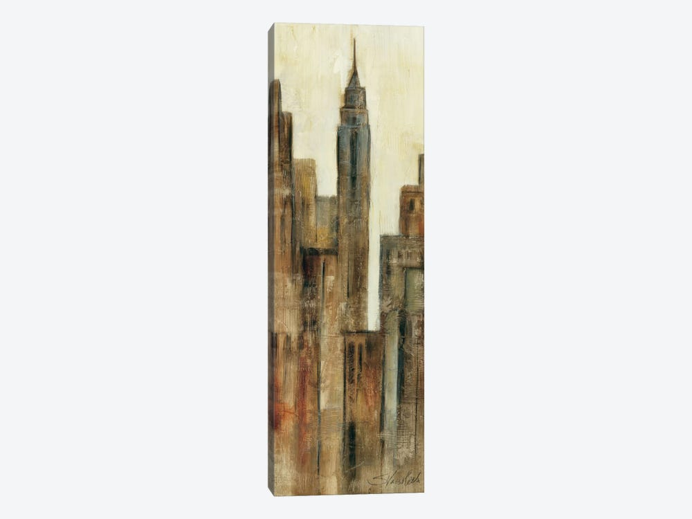 New York Sunrise I 1-piece Canvas Art