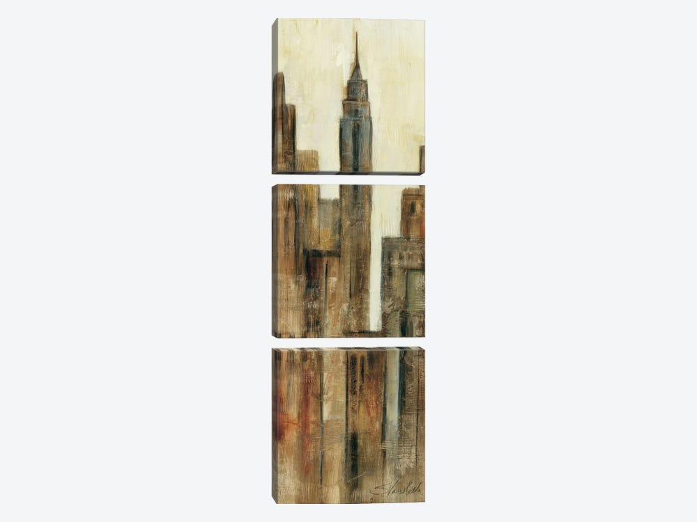 New York Sunrise I 3-piece Canvas Wall Art