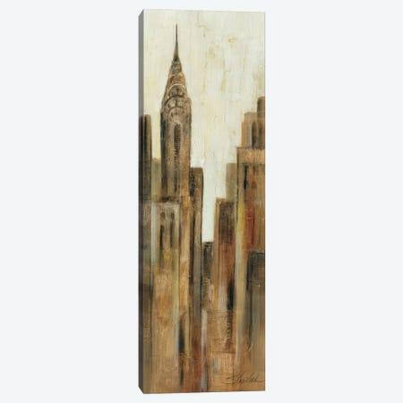 New York Sunrise II Canvas Print #WAC1625} by Wild Apple Portfolio Canvas Wall Art