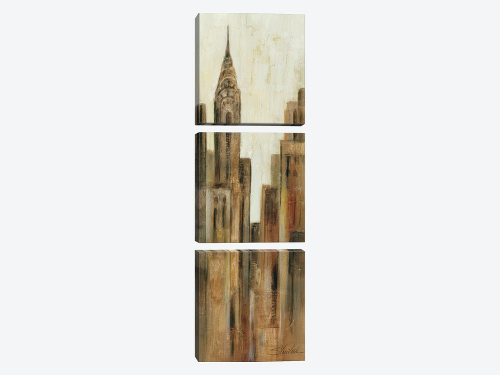 New York Sunrise II by Wild Apple Portfolio 3-piece Canvas Art Print