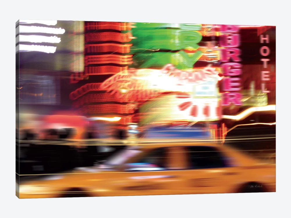 Taxi by Ben Richard 1-piece Canvas Art