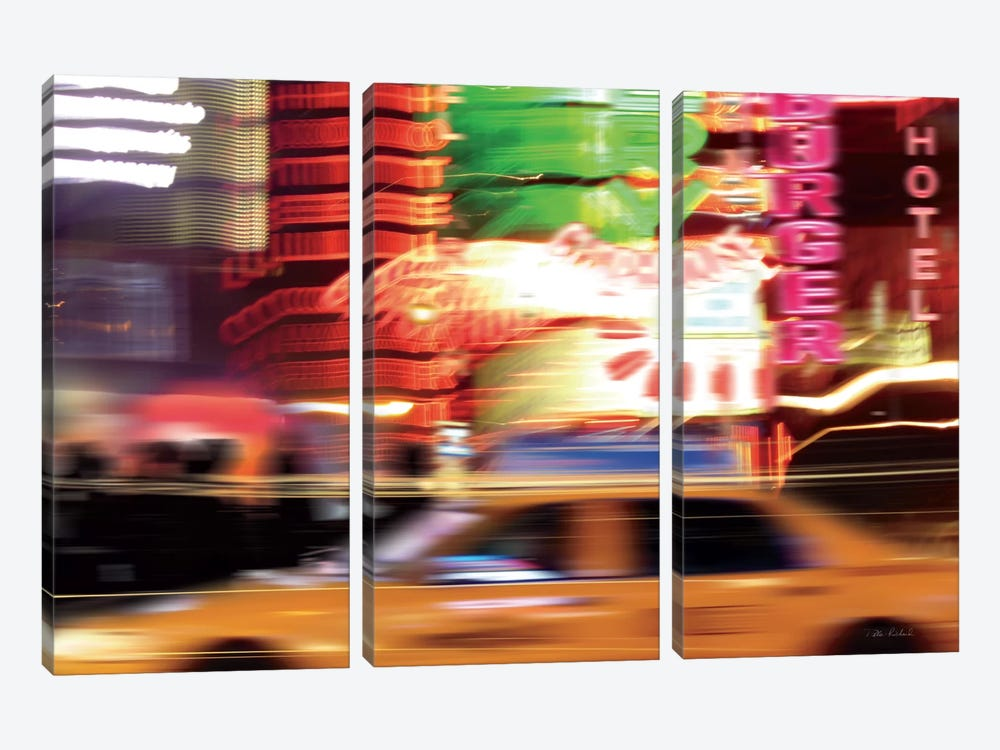 Taxi by Ben Richard 3-piece Canvas Art