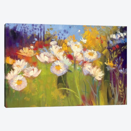 Contemporary Meadow Canvas Print #WAC1652} by Carol Rowan Canvas Artwork