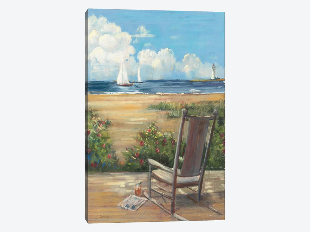 By the Sea II by Carol Rowan 1-piece Canvas Artwork