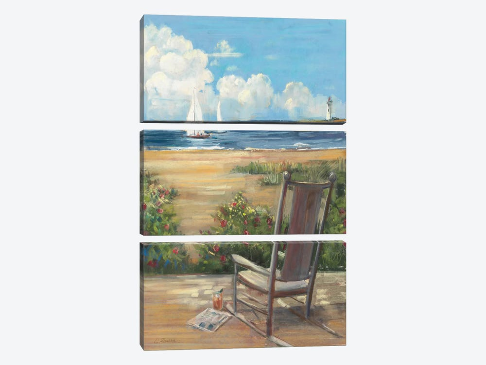 By the Sea II 3-piece Canvas Artwork