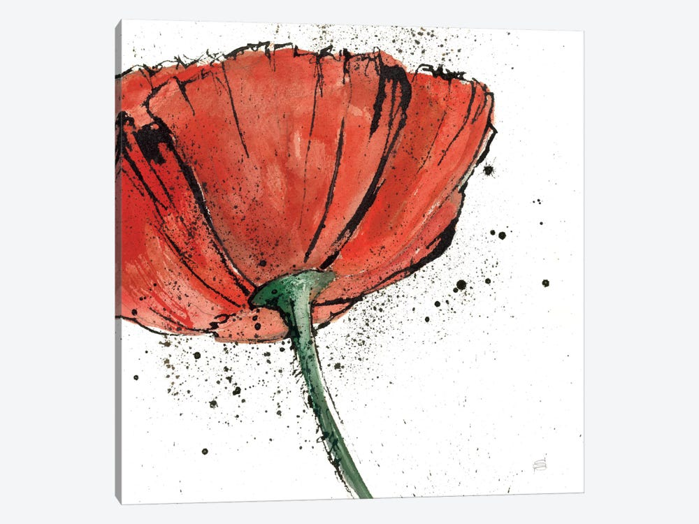 Not a California Poppy I 1-piece Canvas Artwork