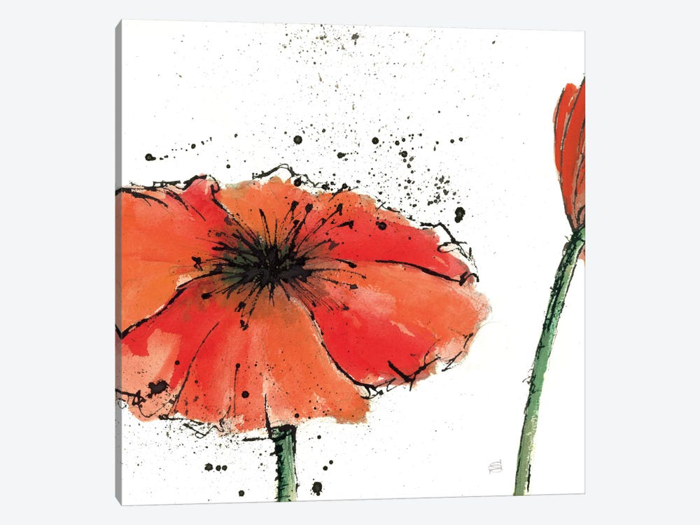Not a California Poppy III by Chris Paschke 1-piece Art Print