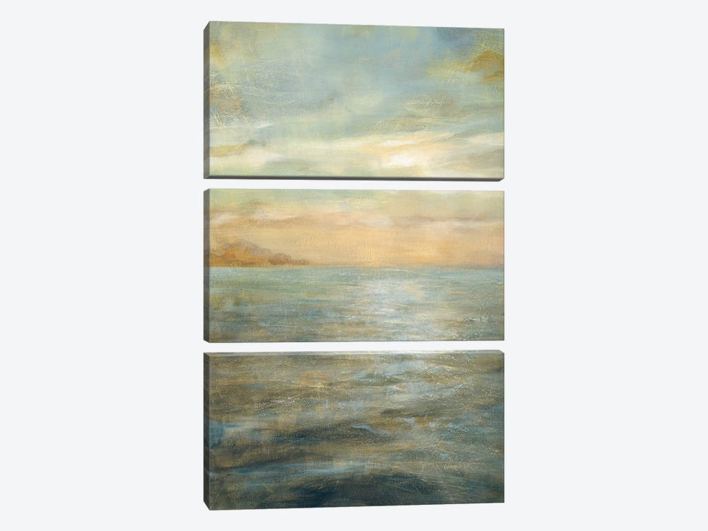 Serene Sea II by Danhui Nai 3-piece Art Print