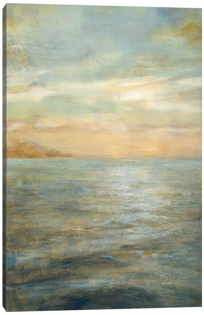 Serene Sea II Canvas Art Print