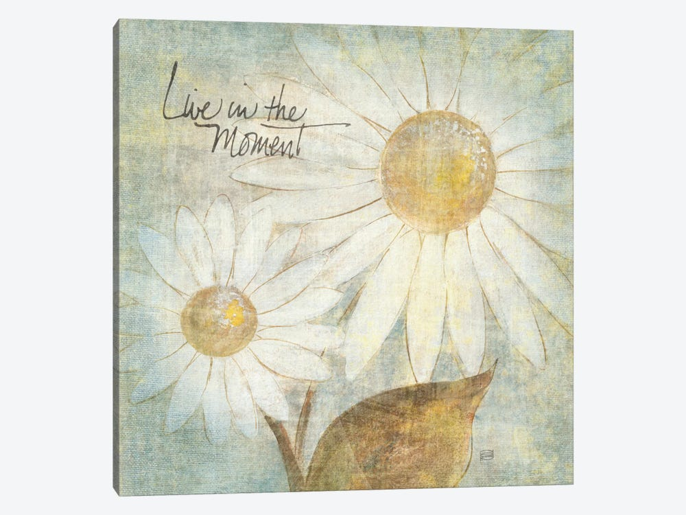 Daisy Do III (Live in the Moment) 1-piece Canvas Art
