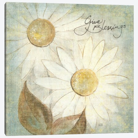 Daisy Do IV (Give Blessings) Canvas Print #WAC1672} by Chris Paschke Canvas Art
