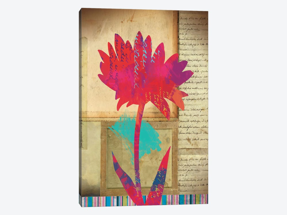 Floral Notes I by Dominic Orologio 1-piece Canvas Art